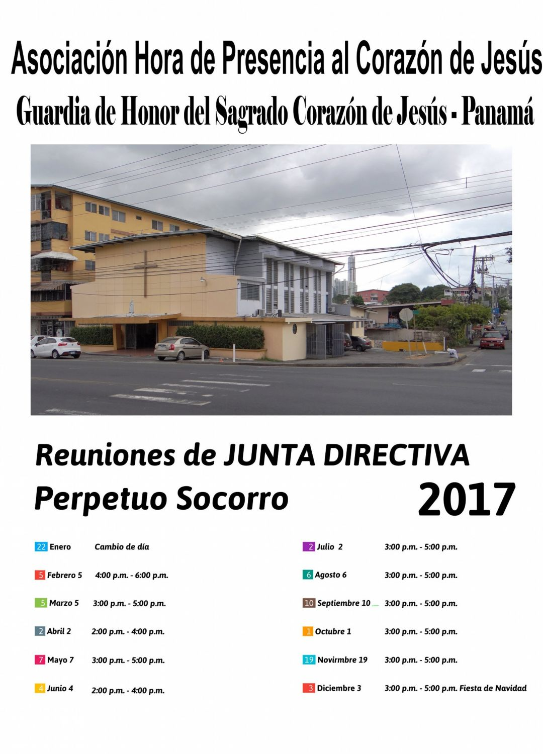 CalendarioReunionJuntaDirectiva2017